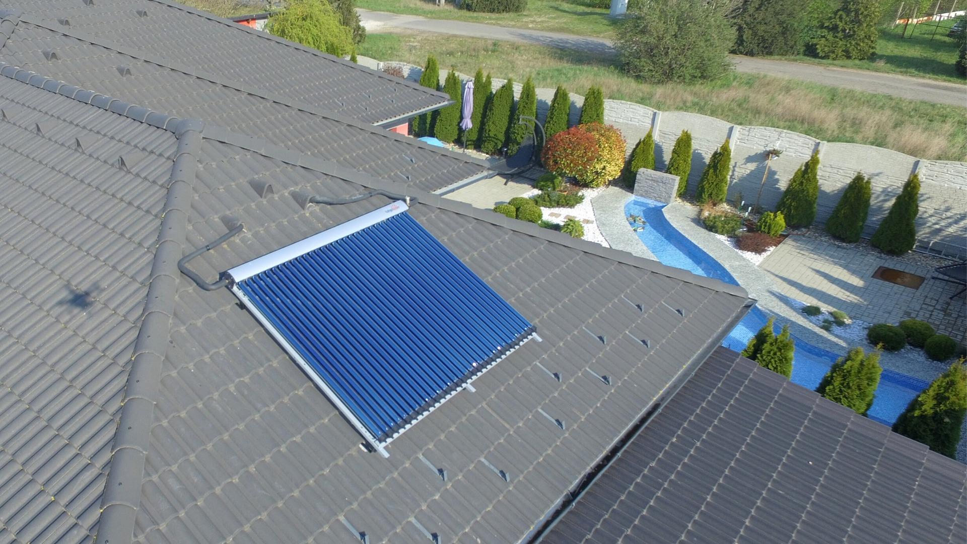 Solárny kolektor na ohrev vody Dunajská Streda