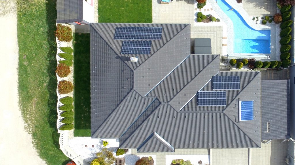 Solárne panely, fotovoltaika, fotovoltika, zelené energie