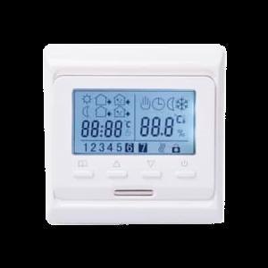 Digitálny programovateľný termostat M6 s priestorovým a podlahovým snímačom