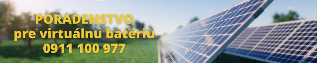 virtuálna batéria pre fotovoltaiku poradenstvo