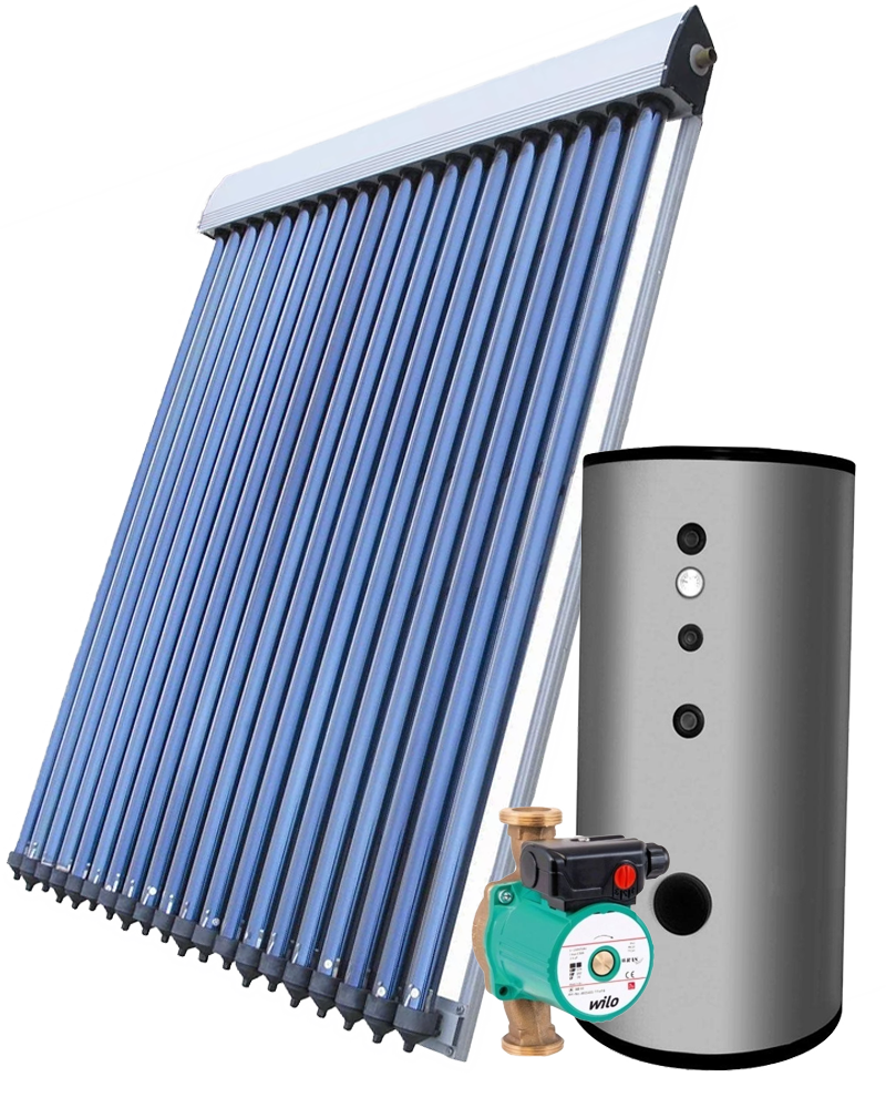 Solárna zostava na ohrev vody split systém