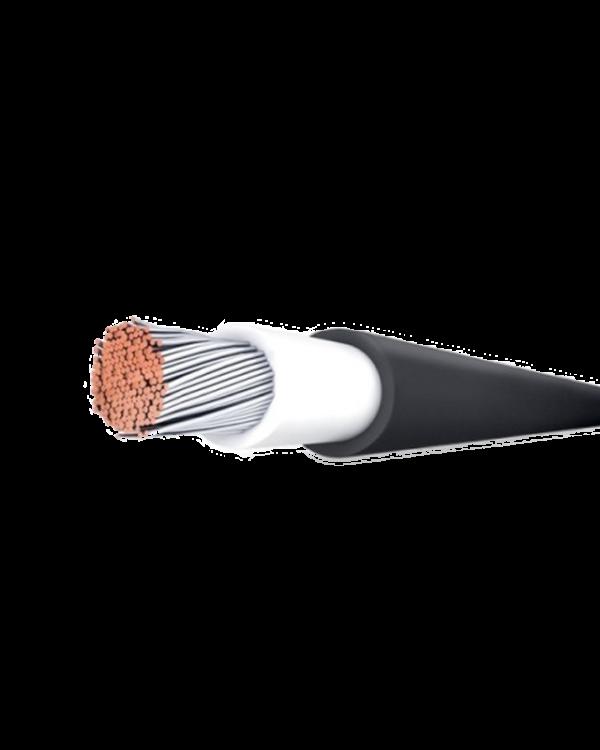 solárny kábel čierny