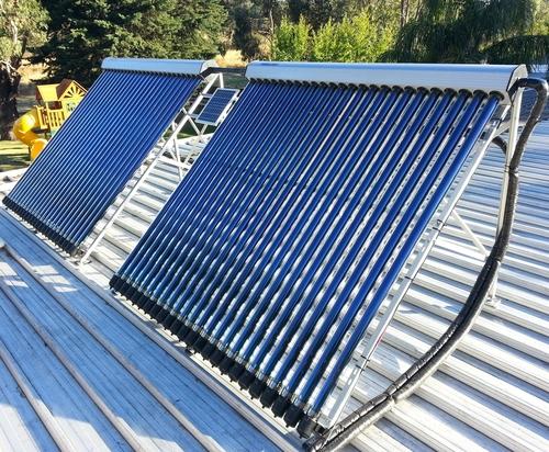 solarny trubicovy kolektor na ohrev vody